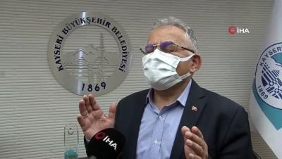 saglik calisanlari -  Korona virüsü yenen Büyükkılıç: 'Aşılar yapılmamış olsaydı süreç böyle seyretmeyebilirdi'