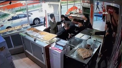 Pastanedeki kavgayla ilgili 2 kişi gözaltına alındı