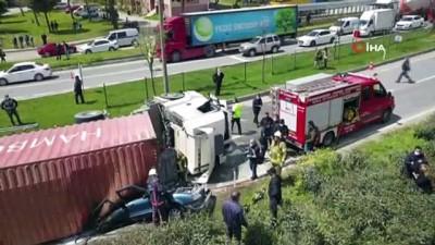 TIR sürücüsü ölüme sebebiyet vermekten tutuklandı