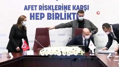 """isbirligi protokolu -  DİSK ile AFAD arasında """"Afet Eğitim İşbirliği Protokolü"""" imzalandı"""
