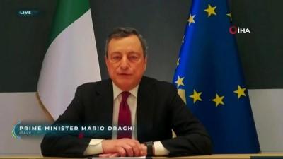 italyan -  - İtalya Başbakanı Draghi'den İklim Zirvesi'nde yeni dönem vurgusu