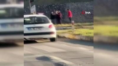 Kavşakta kaza: 1 ölü, 3 yaralı