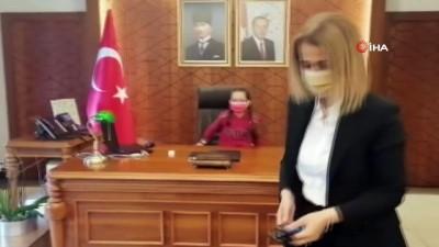 """yuz yuze -  Nevşehir'in çocuk Valisi: """"Maske, mesafe, temizlik kuralına uyunuz"""""""