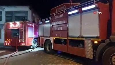 Sakarya'da balık lokantası alev alev yandı