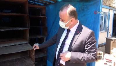 Sinop'ta 70 yıllık buz kalıpları kütüphane raflarına dönüştürülecek