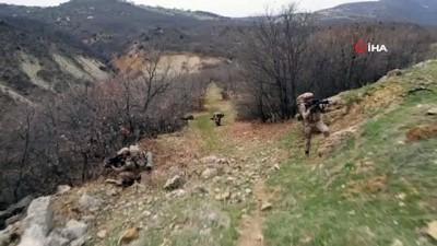 elektrik kablosu -  Tunceli'deki Eren-7 operasyonu: 17 sığınak imha edildi
