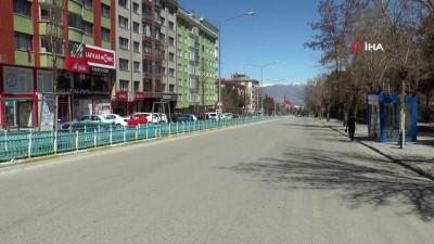 23 Nisan'da Erzurum sessizliğe büründü