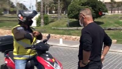 Antalya'da korona virüs sessizliği