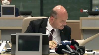 Bakan Soylu, ' Şahsın Türkiye'deki bankalarda bulunan 31 milyon lirasına el konuldu'