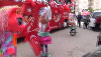Başkan Atabay'dan 23 Nisan'da çocuklara sürpriz kutlama