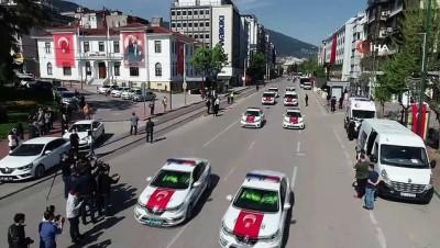 Bursa'da sade 23 Nisan kutlaması