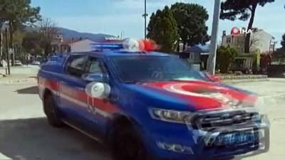 Çanakkale'de kolluk kuvvetleri 23 Nisan coşkusunu yaşattı