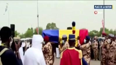 parlamento -  - Cephede hayatını kaybeden Çad Devlet Başkanı Deby, son yolculuğuna uğurlandı