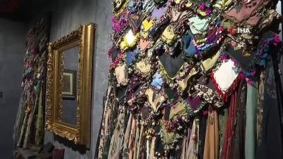 Emine Erdoğan, 'Kalbe Dokunan İlmek' sergisini ziyaret etti