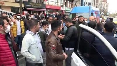 İstanbul'un göbeğinde husumetli iki kişi arasında çatışma çıktı