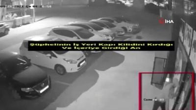 Lüks marka aracıyla gelerek hırsızlık yaptılar: O anlar kamerada
