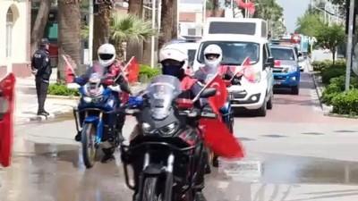 Manisa'da 23 Nisan'a özel konvoy