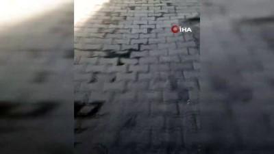 Siirt'te mahalle ortasına bırakılan boş tabut korkuttu