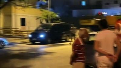 Kısıtlama saatinde 23 Nisan eğlencesi yapan gençler polisi görünce kaçtı