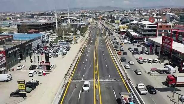 koprulu -  Şaşmaz Sanayi Bulvarı'ndaki ilk köprülü kavşak trafiğe açıldı