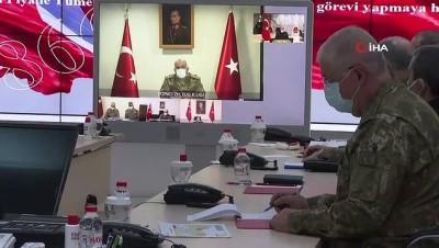 Akar ve TSK komuta kademesine Şırnak'ta yoğun ilgi