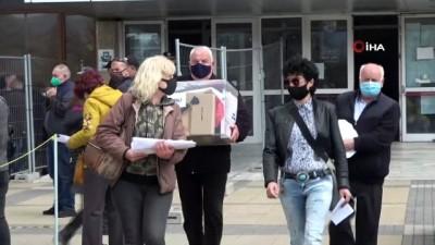 parlamento -  - Bulgaristan Covid-19 salgını gölgesinde seçime hazır