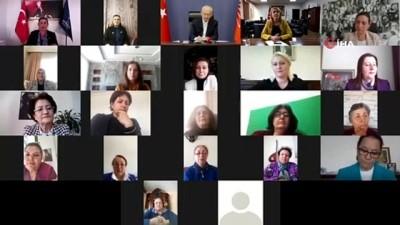 CHP lideri Kılıçdaroğlu, Kadın Belediye Başkanları ile bir araya geldi
