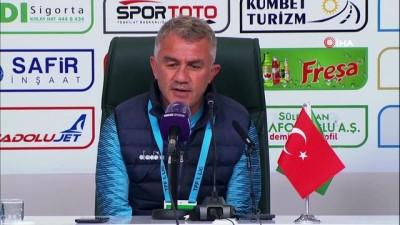 Giresunspor - İstanbulspor karşılaşmasının ardından