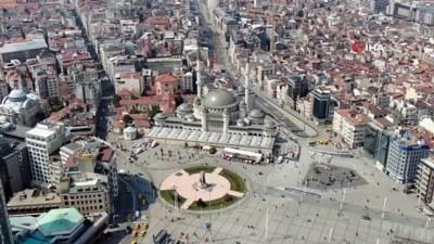 takvim -  Kısıtlamada Taksim meydanı turistlere kaldı