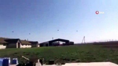 askeri helikopter -  - Ukrayna sınırında Rus askeri helikopterlerin uçuş gerçekleştirdiği iddiası