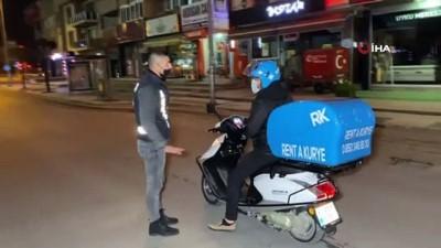 15 ayrı noktada 120 polis denetim yaptı.. 77 kişiye 267 bin 113 lira ceza kesildi