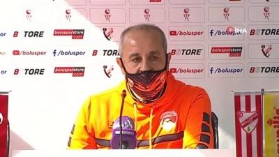 Boluspor - Adanaspor maçının ardından
