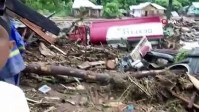 felaket -  - Endonezya'da sel ve heyelan felaketi: 23 ölü, 9 yaralı