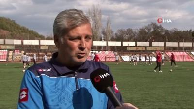 Kırıkkale Büyük Anadoluspor'da Bayrampaşa maçı hazırlıkları sürüyor