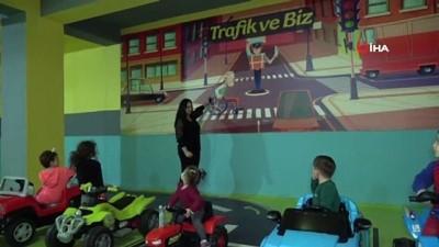 kadin girisimci -  Ücretli öğretmenlikten biriktirdikleri parayla çocuklara eğitim parkı açtılar