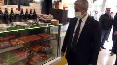 Başkan Tahmazoğlu'ndan pandemi denetimi