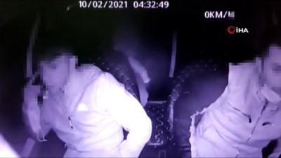 adli kontrol -  Çek-senet hırsızlığı yaptıkları iddia edilen şüpheliler önce kameralara sonra polise yakalandı