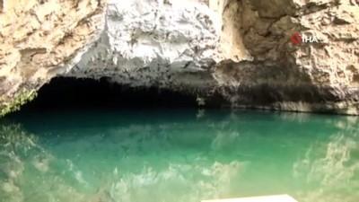 ziyaretciler -  Dünyaca ünlü Altınbeşik Mağarası, yeniden ziyarete açılacağı günü bekliyor