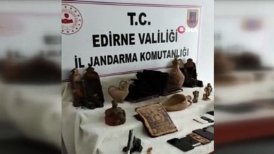 Edirne merkezli 6 ilde tarihi eser operasyonu