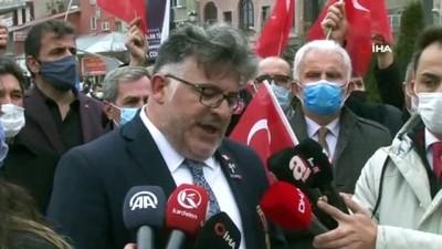 Erzurum'da STK'lardan 104 amirale tepki