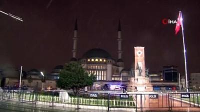 saganak yagis -  İstanbul'da sağanak yağış etkili oluyor