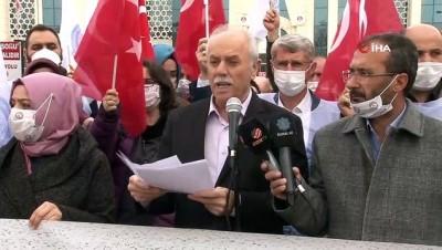 Konya'da bildiri yayınlayan 104 emekli amirale suç duyurusu