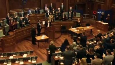 """milletvekili -  - Kosova Cumhurbaşkanı Osmani: """"Bugün Kosova bir kadın cumhurbaşkanı seçti"""" - """"Sırp suçlular yargılanana kadar adalet sağlanmayacaktır"""""""