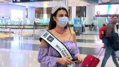 Lübnan'daki güzellik yarışmasında üçüncü Türk manken oldu