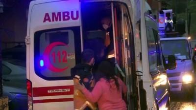 mahsur kaldi -  Sancaktepe'de can pazarı: Mahsur kalan 5 kişi tahliye edildi
