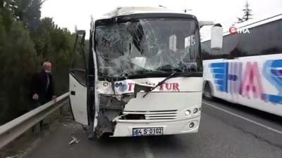Servislerin karıştığı zincirleme kazada can pazarı yaşandı: 9 yaralı