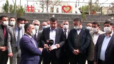 Şırnak'ta STK'lar, bildiriye imza atan emekli amiraller hakkında suç duyurusunda bulundu