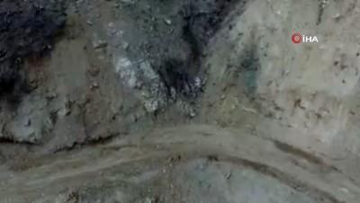 Toprağa gizlenen EYP'ler böyle imha edildi
