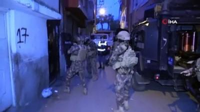 guvenlik onlemi -  Adana'da merkezli 4 ilde narkotik operasyonu: 25 gözaltı kararı