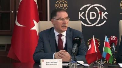 uluslararasi -  Azerbaycan İnsan Hakları Komiserinden KDK'ya ziyaret